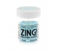 Пудра для эмбоссинга Zing! POWDER (BLUE) от American Crafts