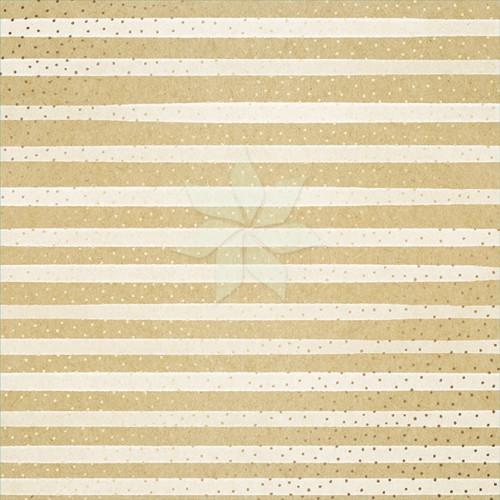 Односторонний лист 30х30 «Крафт с Золотым фольгированием» от American Crafts