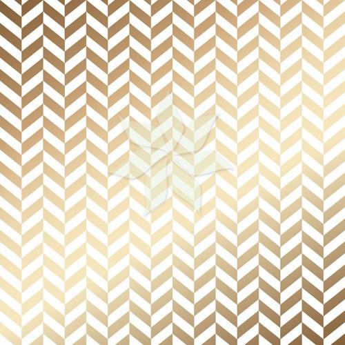 Ацетатный лист «Ёлочка» с Золотым фольгированием от American Crafts