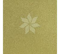 Кардсток односторонний глиттерный цвета MUSTARD от American Crafts
