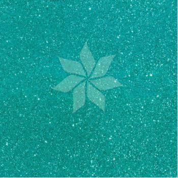 Кардсток односторонний глиттерный цвета AQUA от American Crafts
