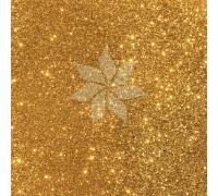 Кардсток односторонний глиттерный цвета GOLD от American Crafts