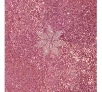 Кардсток односторонний глиттерный цвета BUBBLEGUM от American Crafts