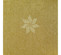 Кардсток односторонний гофрированный глиттерный цвета GOLD от American Crafts