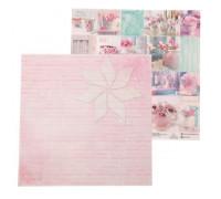 Двусторонний лист с карточками 30х30 «Happy Moments» от АртУзор