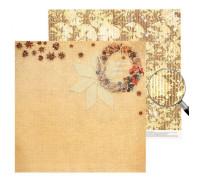 Двусторонний лист 30х30 «Волшебство в каждом дне»  из коллекции «Пряности и радости» от АртУзор