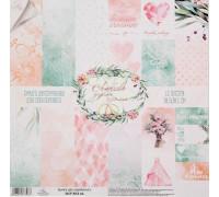 Набор бумаги 30х30 «Любовь дарит крылья» от АртУзор