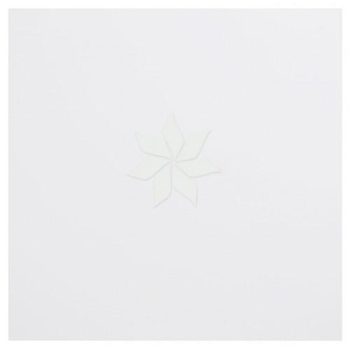 Пластиковый лист для эмбоссинга цвета Snowball от Bazzill