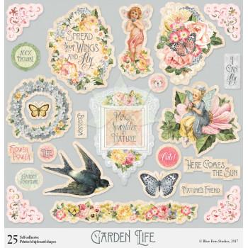 Чипборд из коллекции «Garden Life» от Blue Fern Studios