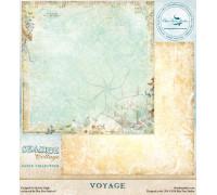 Двусторонний лист 30х30 «Voyage» из коллекции «Seaside Cottage» от Blue Fern Stidios