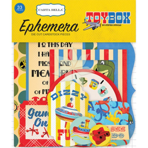 Набор вырубки из коллекции «Toy Box» от Carta Bella