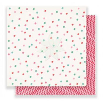Двусторонний лист «VERY MERRY» из коллекции «FALALA» от Creat Paper (12х12 дюймов)