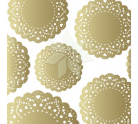 Калька «Золотые ажурные салфетки» из коллекции «FLEA MARKET» от Creat Paper