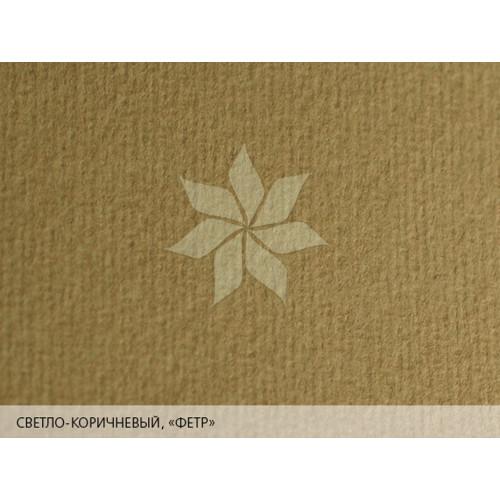 """Дизайнерская бумага 25х35 Светло-коричневый с тиснением """"фетр"""" MURILLO от FABRIANO"""