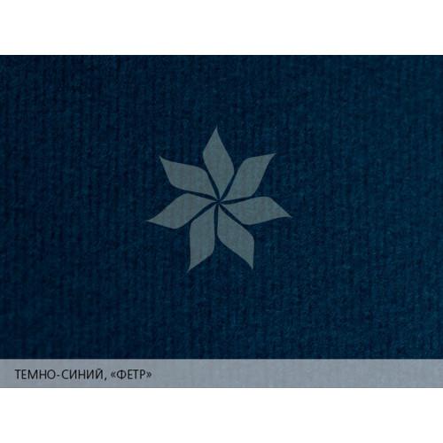 """Дизайнерская бумага 25х35 Темно-синий с тиснением """"фетр"""" MURILLO от FABRIANO"""