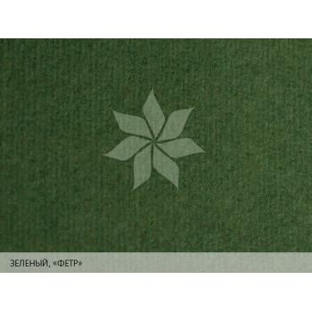 "Дизайнерская бумага 25х35 Зеленый с тиснением ""фетр"" MURILLO от FABRIANO"