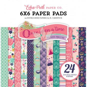 Набор бумаги 15х15 из коллекции «Once Upon A Time Princess» от Echo Park
