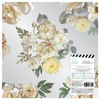 Ацетатный лист MagnoliaJane SpPaper Floral от Heidi Swapp