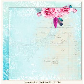 Двусторонний лист 30х30 «04» из коллекции «Daydream» от Lemon Crafts