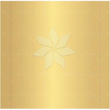 Односторонний лист «GOLD CHEVRON» с золотым фольгированием из коллекции «Cottage Living» от Pebbles