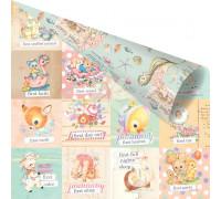 Двусторонний лист 30х30 Карточки «First Everything» из коллекции «Heaven Sent 2» от PRIMA Marketing