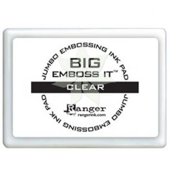 Подушечка БОЛЬШАЯ для эмбоссинга BIG Emboss It Clear от Ranger