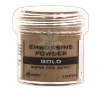 Пудра для эмбоссинга GOLD (S/F) от Ranger
