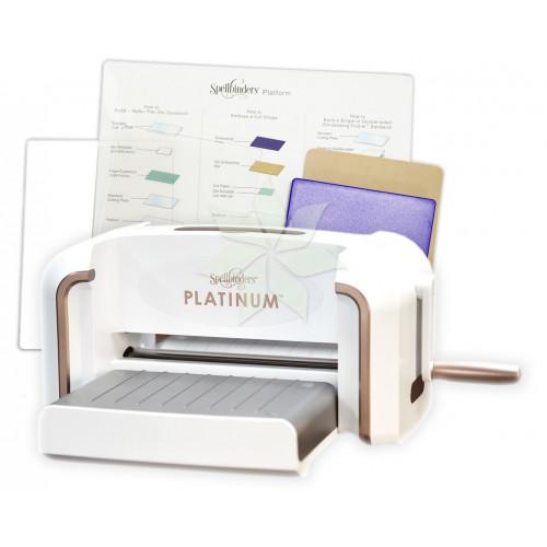 """Машинка для вырубки и тиснения Spellbinders Platinum 8.5"""""""