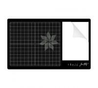 Стеклянный коврик Черный TONIC TH GLASS MAT от Tim Holtz