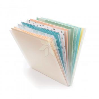 Органайзер для хранения бумаги 30х30 Expandable Paper Storage от WRMK (10 отделений)