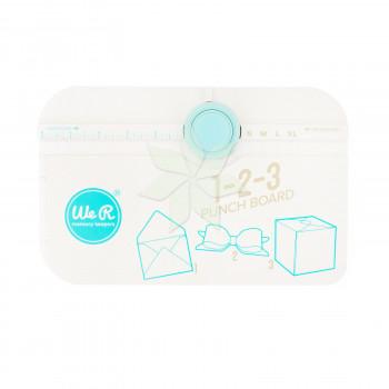 Доска для создания конвертов, коробочек и бантиков 1-2-3 PUNCH BOARD от WRMK