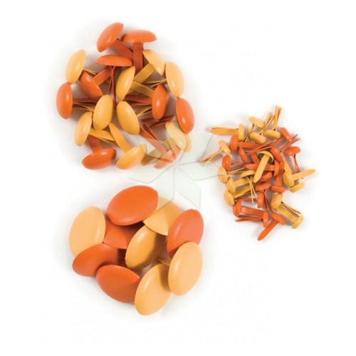 Брадсы Оранжевые (Orange) от WRMK (54 шт.)