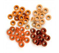 Люверсы стандартные Оранжевые (Orange) от WRMK (60 шт.)