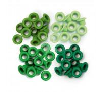 Люверсы стандартные Зеленые (Green) от WRMK (60 шт.)