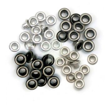Люверсы стандартные «Холодный металл» (Cool Metal) от WRMK (60 шт.)
