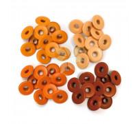 Люверсы широкие Оранжевые (Orange) от WRMK (40 шт.)