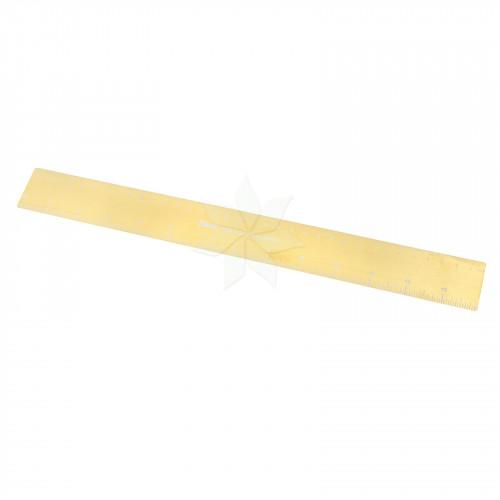 Магнитная золотая линейка FOIL QUILL (WRMK)