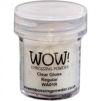 Пудра для эмбоссинга Clear Gloss (Прозрачный блеск) (R/T) от WOW!