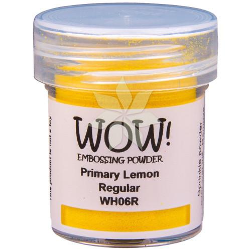 Пудра для эмбоссинга Primary Lemon (Лимонный) (R/T) от WOW!
