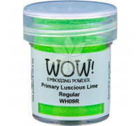 Пудра для эмбоссинга Primary Luscious Lime (Сочный лайм) (R) от WOW!
