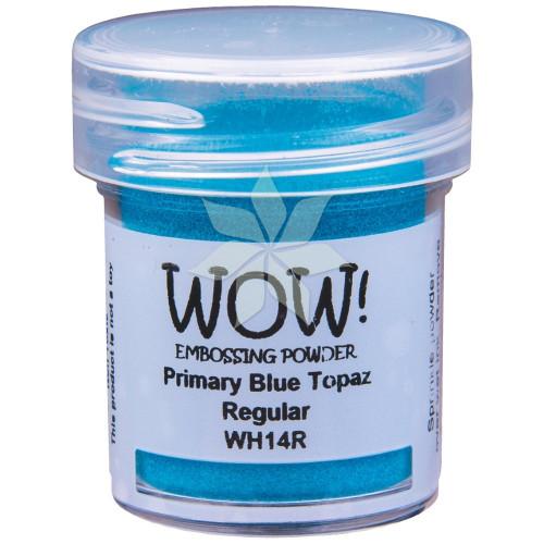 Пудра для эмбоссинга Primary Blue Topaz (Голубой топаз) (R/T) от WOW!