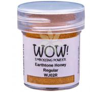 Пудра для эмбоссинга Earthtone Honey (Землистый мед) (R/OM) от WOW!