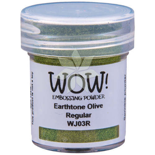 Пудра для эмбоссинга Earthtone Olive (R/OM) от WOW!