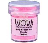 Пудра для эмбоссинга Pastel Pink (Пастельно-розовый) (R/O) от WOW!