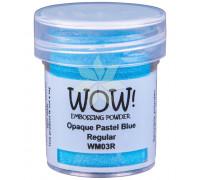 Пудра для эмбоссинга Pastel Blue (Пастельно-голубой) (R/O) от WOW!