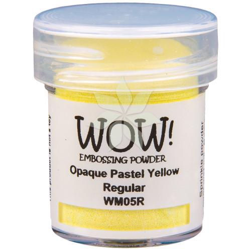 Пудра для эмбоссинга Pastel Yellow (Пастельно-желтый) (R/O) от WOW!