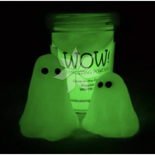 Пудра для эмбоссинга Glow-In-The-Dark (Светиться в темноте) (R/T) от WOW!
