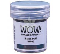 Пудра для эмбоссинга Black Puff (Чернота) (R/O) от WOW!