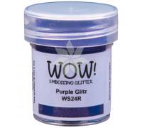 Пудра для эмбоссинга Purple Glitz (Фиолетовый блеск) (R) от WOW!