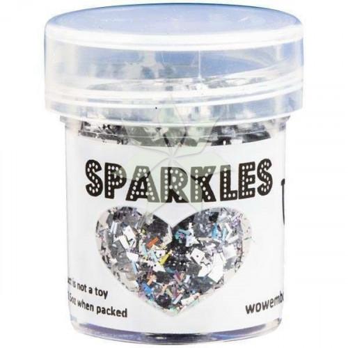 Глиттер для эмбоссинга Crown Jewels (Королевские драгоценности) SPARKLES Premium Glitter от WOW!